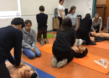 Formation Premiers Secours pour les élèves et les adultes du collège