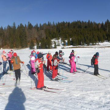 Sortie ski nordique pour les CE2 et CM1
