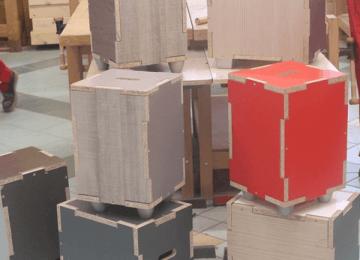 Fabrication de tabourets (1ère CAP FMMA)