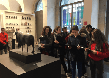 Parcours artistique et culturel : les 4èmes découvrent les arts