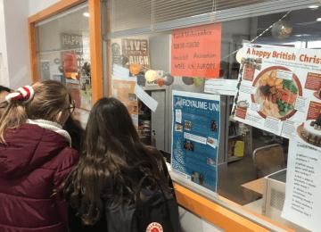 Noël en Europe : proposé par les professeurs de langues et les élèves